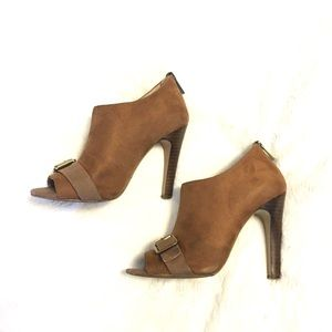 Sole Society Shoes - Solesociety | Tan Suede Heels